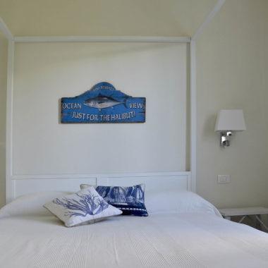 camera blu Villa Porto Sul Magra